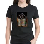 East Stained Glass Window Chr Women's Dark T-Shirt
