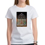 East Stained Glass Window Chr Women's T-Shirt