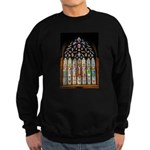East Stained Glass Window Chr Sweatshirt (dark)