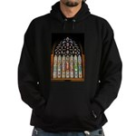 East Stained Glass Window Chr Hoodie (dark)