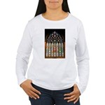 East Stained Glass Window Chr Women's Long Sleeve
