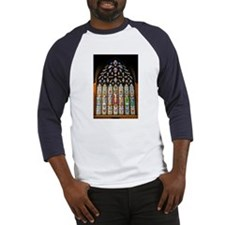 East Stained Glass Window Chr Baseball Jersey
