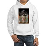 East Stained Glass Window Chr Hooded Sweatshirt