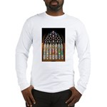 East Stained Glass Window Chr Long Sleeve T-Shirt