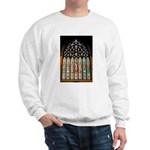 East Stained Glass Window Chr Sweatshirt