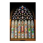 East Stained Glass Window Chr Postcards (Package o