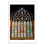 East Stained Glass Window Chr Large Poster