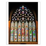 East Stained Glass Window Chr Small Poster