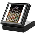 East Stained Glass Window Chr Keepsake Box
