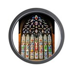 East Stained Glass Window Chr Wall Clock
