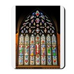 East Stained Glass Window Chr Mousepad