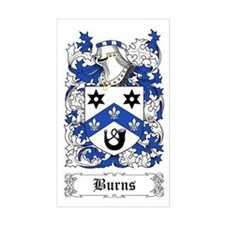 Burns Sticker (Rectangular)