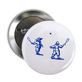 Delft Tennis Button 2.25""