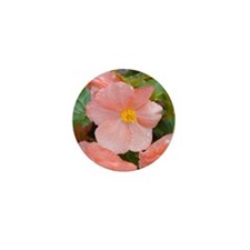 Begonia Blossom Mini Button (10 pack)