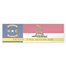 Dont Tread on Me North Caroli Bumper Sticker