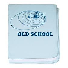 Old School Solar System Infant Blanket