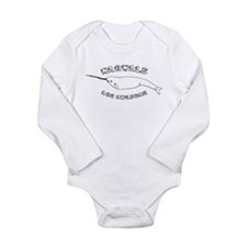Narwhals Are Awesome Long Sleeve Infant Bodysuit