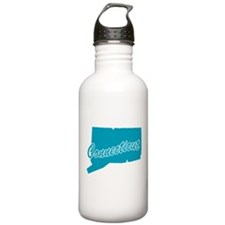 State Connecticut Sports Water Bottle