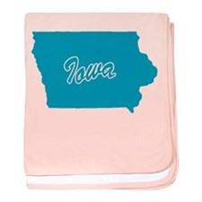 State Iowa Infant Blanket