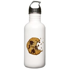 Chocolate Chip Cookie Sports Water Bottle