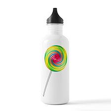 Swirly Lollipop Sports Water Bottle