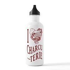 I Love Charcuterie Water Bottle