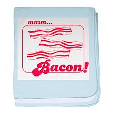 MMM Bacon baby blanket