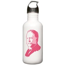 Pink President Taft Sports Water Bottle