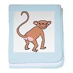 Cheeky Monkey Infant Blanket