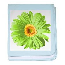 Pop Art Green Daisy Infant Blanket