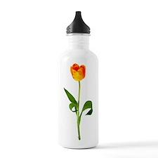 Orange Tulip Water Bottle
