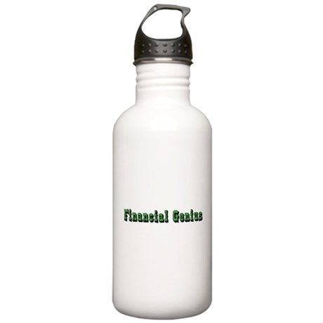 Financial Genius Stainless Water Bottle 1.0L