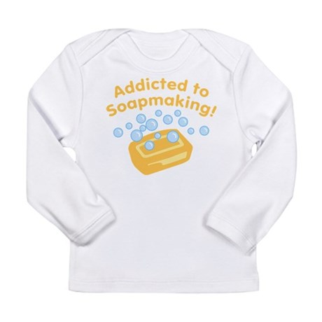 Addicted to Soap Craft Long Sleeve Infant T-Shirt