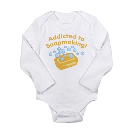 Addicted to Soap Craft Long Sleeve Infant Bodysuit