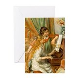 Cute Pierre auguste renoir Greeting Card
