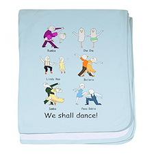 Ballroom Dancers Infant Blanket