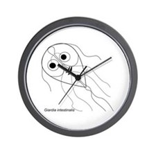 Unique Microbiology Wall Clock
