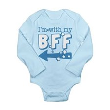 I'm with My BFF (LEFT) Long Sleeve Infant Bodysuit