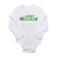 Re-Elect Jimmy Carter Long Sleeve Infant Bodysuit