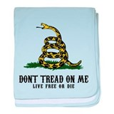 Don't Tread on Me 3 Infant Blanket