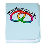 Marriage Equality Infant Blanket