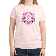 Women's Breast Cancer Survivor Light T-Shirt