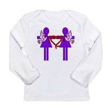 Same Sex Marriage Female Long Sleeve Infant T-Shir