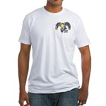 Planet Rams Fitted T-Shirt