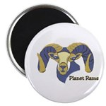 Planet Rams Magnet