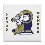 Planet Rams Tile Coaster