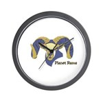 Planet Rams Wall Clock