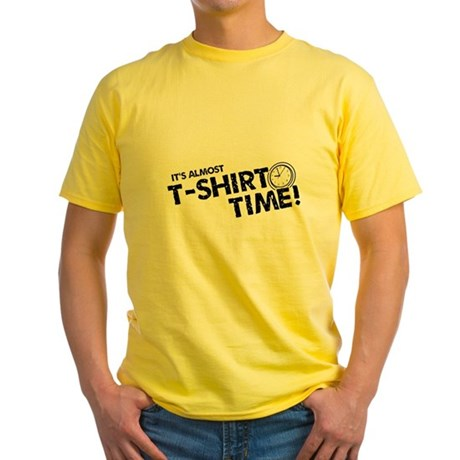 T-Shirt Time Yellow T-Shirt