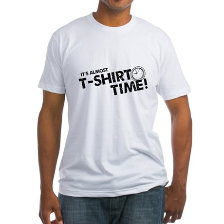 T-Shirt Time Fitted T-Shirt