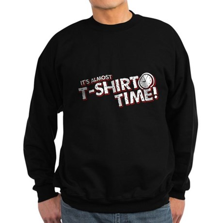 T-Shirt Time Dark Sweatshirt